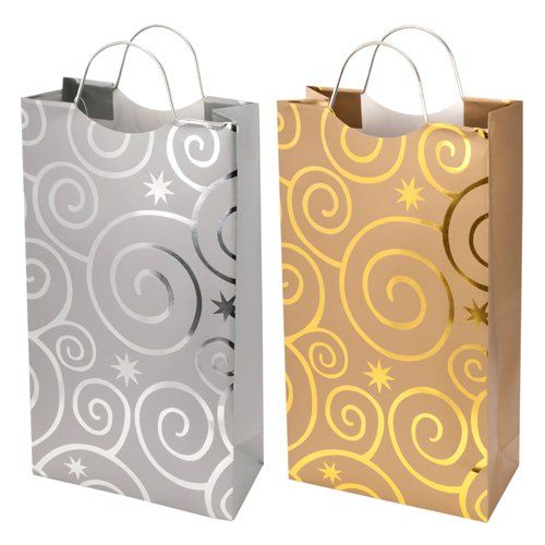 2-bottle Flashing Bulbs Bag (silver or gold)