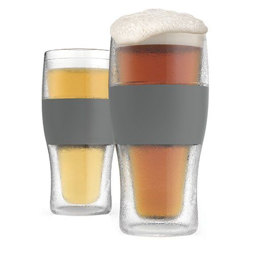 Beer Freeze Cooling Cups - Set of 2