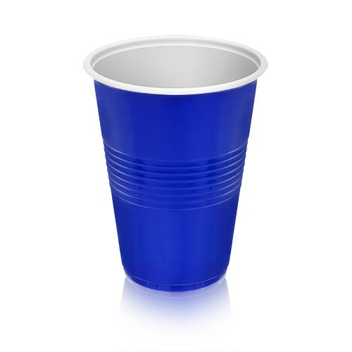 16 oz Blue Party Cups, 50 pack by True