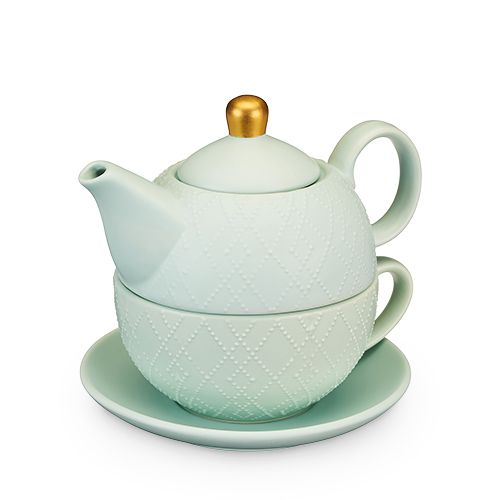 Addison Souk Mint Tea For One Set By Pinky Up
