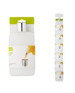 Travel 10oz Flask on Preloaded Clip Strip