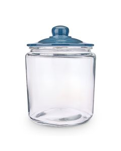 1 Gallon (3.8 L) Grey lid glass jar