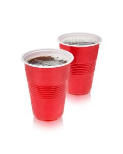 16 oz Red Party Cups, 50 pack by True