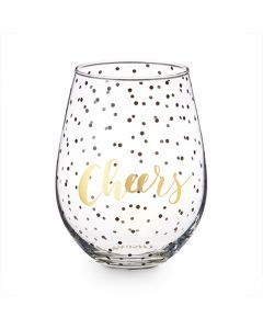 Cheers 30 oz Stemless Wine Glass by Blush®