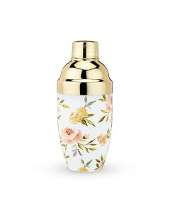 Watercolor Floral Cocktail Shaker by Twine®